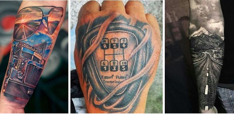 Trucker Ink – 11 Tats Fit for a Road King