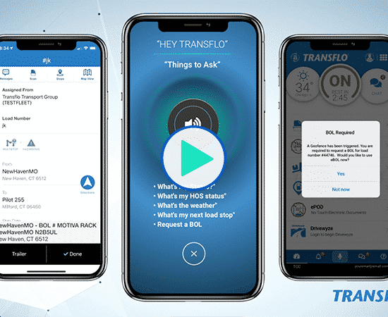 Watch the Transflo Mobile+ App Integrate with Geotab ELD